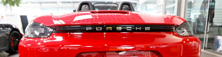 Actualités Porsche Boxster